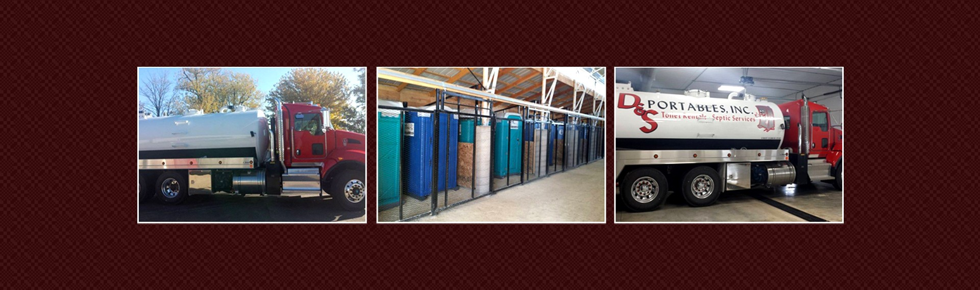 Septic Tank Truck and Portable Toilets